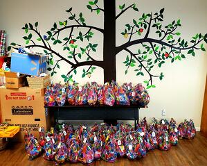 Esplanade Easter baskets ready to go