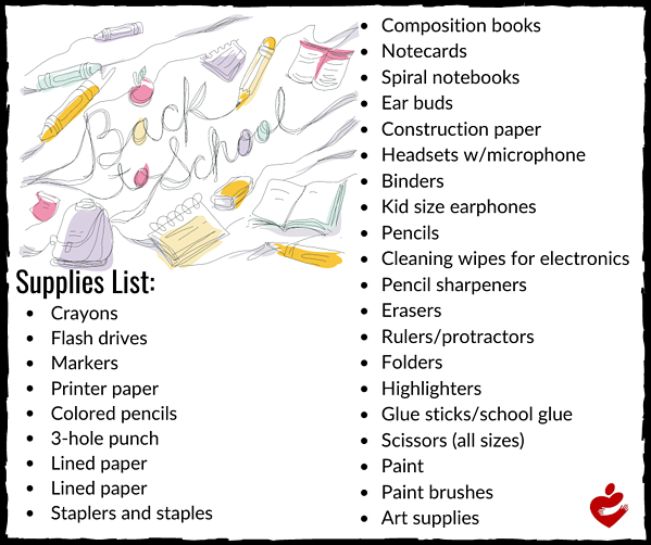 Back-to-School Supply List (1)