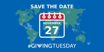Save the date - Giving Tuesday 2018