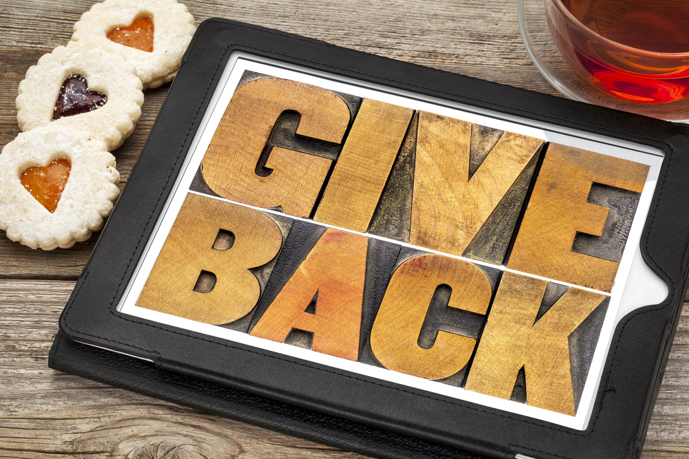 Give back to your community in 2018